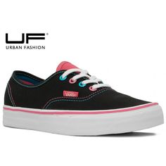Vans Authentic Pop Eyelets Black