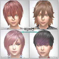 Kijiko: Kijiko Hair for Kids Vol.1 • Sims 4 Downloads