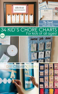 Oh these chore charts for kids are just fabulous - hopefully my kids will want to help me more!