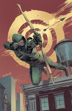 "Green Arrow by Mitch Breitweiser ✮✮Feel free to share on Pinterest"" ♥ღ www.unocollectibles.com"