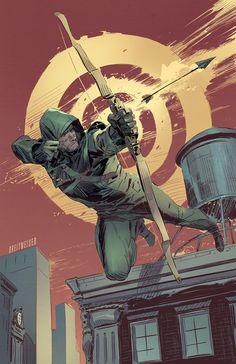Green Arrow by Mitch Breitweiser