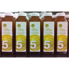 TC Lemonades are getting all lined up for your Energize cleanses!