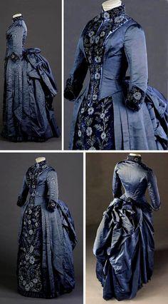 Reception dress 1880s