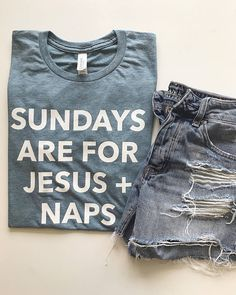 Sundays are for Jesus + Naps! Shirt is tri-blend, soft & comfortable. Tee is screen printed & is UNISEX - PLEASE SIZE DOWN. PLEASE CHECK SHOP ANNOUNCEMENT FOR CURRENT TURNAROUND TIME/SHIPPING TIME. Please wash inside out and hang dry for long lasting wear. www.graceandcrew.com Be sure to check us out elsewhere! Facebook - www.facebook.com/maeryanco Instagram - www.instagram.com/maeryanco