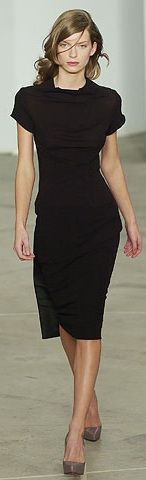 Roland Mouret - perfect LBD... I would love to own one of his dresses.... love this one.