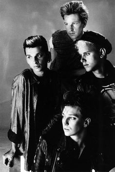 Depeche Mode, this is what they looked like when I first fell in love with them...almost 30 years now!!