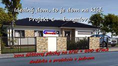 Vaše vysnívané bývanie Váš nový domov: Projekt 6 - 2 izb. bungalov. Inford800@gmail.com +421 908 762 654 Ponúkame výstavbu rodinných domov- nízkoenergetických bungalovov, ktoré spájajú komfort, kvalitu stavebných konštrukcií, energetickú a finančnú úspornosť, efektivitu. • Len za 800,-€/m2 úžitkovej plochy. • GENESIS – to je projekcia a realizácia v jednom. Dom na kľúč je nízkoenergetický bungalov realizovaný z kvalitných materiálov, zhotovený s citom pre detail, servis a inžiniering.