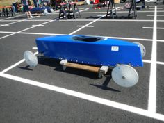 The Blue Bomber Soap Box Derby Cars, Derby Time, I Love My Son, Soap Boxes, Rat, Solar, Vehicles, Blue, Soaps