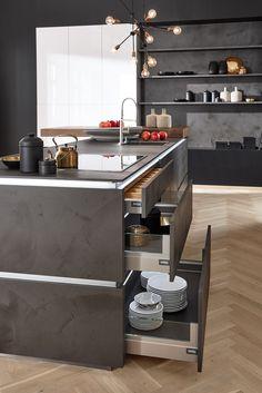 Wohnküchen: Platz zum Leben | nolte-kuechen.de | Keittiö ideoita ...