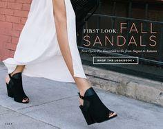 Fall Sandals//
