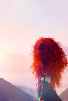 Brave - merida - disney wallpaper - the landscapes in this film are amazing!