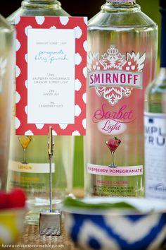 Girls Night // Smirnoff Sorbet Light Mixology Party