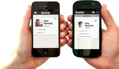 """""""Bump"""" files from your phone to computer or between phones."""
