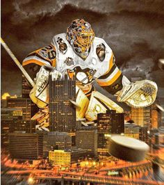 Pittsburgh Penguins goalie Marc-Andre Fleury, now a Las Vegas Golden Knight. Pittsburgh City, Pittsburgh Sports, Pittsburgh Penguins Hockey, Hockey Penguins, Pens Hockey, Hockey Memes, Ice Hockey, Hockey Baby, Hockey Stuff