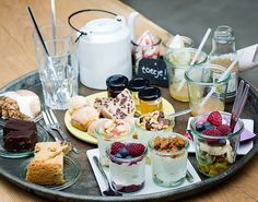 Photo of Yoghurt Barn - Amsterdam, Noord-Holland, The Netherlands. Breakfast Basket, Breakfast In Bed, Breakfast Ideas, High Tea Catering, Cute Food, Yummy Food, Brunch, Continental Breakfast, Amsterdam