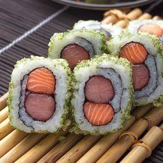 Resorts World Manila, Sushi, Japanese, Ethnic Recipes, Food, Japanese Language, Essen, Meals, Yemek