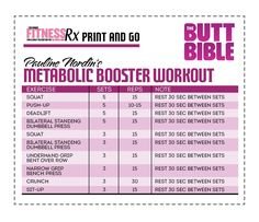 Want to get lean & sculpted with minimal time invested? Or, are you just looking to amp up your intensity before the summer strip down? Then you are going to love Pauline Nordin's Metabolic Booster Workout! This high intensity resistance training...
