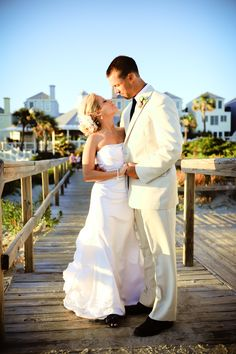 Mr. & Mrs. | Charleston, SC Beach Wedding | Wild Dunes Resort