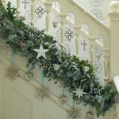 Check Out The Placement Of The Garland  it would look great with white lights!