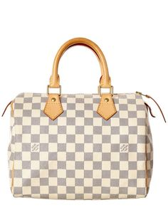 Spotted this Louis Vuitton Damier Azur Canvas Speedy 25 on Rue La La. Shop ( 01e244946ea35