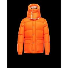 2017 Moncler Cousteau Down Jacket Orange Men\'s