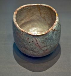 Raku Tea bowl Japan, Kyoto 18th century, In the Musée Guimet, Paris
