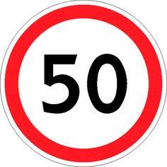 """Чтобы водитель знал с какой скоростью ему разрешено ехать на конкретном участке дороге применяют следующий запрещающий дорожный знак """" Ограничение максимальной скорости"""". Благодаря этой информации водитель поймет, что выше 50 км/ч скорость увеличивать нельзя на данном участке. Тоже полезный знак. Поставщик запрещающего дорожного знака """" Ограничение максимальной скорости"""": Магазин Охраны Труда """"Охрана Труда 21.ру"""""""