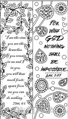 8 Coloring Bookmarks With Feel Good Quotes Printable