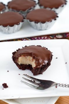 Chocolate Butter Mousse Tarts....excited to try, I just got mini tart pans this summer