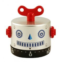 The silver one  Robob Robot 60-Minute Kitchen Timer - Assortment (Blue, Gold or Silver) by SL, http://www.amazon.com/dp/B004H7AC1E/ref=cm_sw_r_pi_dp_KQdNqb006PZYD