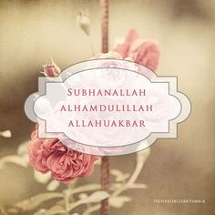 Simply Dhikr! #Dhikr #Islam #Remembrance