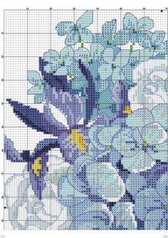 Saksıda Kanaviçe Çiçek Örnekleri (2)
