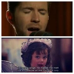 Hahaha, oh my goodness. Darla knows what she's talking about. I have total respect for Josh Turner.