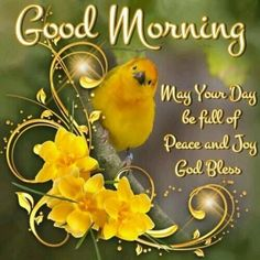 Good Morning God Bless / good morning quotes. BE KIND TO ONE ANOTHER!
