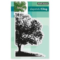 Penny Black SHADE CANOPY Cling Stamp 40-446