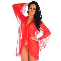 Robe Sensual Tentação - R$ 100,00 no MercadoLivre