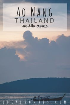 Ao Nang Itinerary, Krabi Thailand, Things to do, where to stay