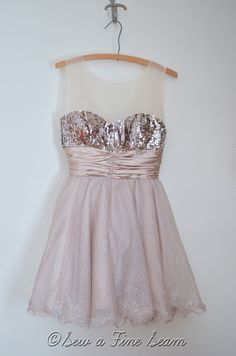 Homecoming dress makeover.. Strapless to straps....would be helpful to have!