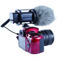Amazon.com : Movo VXR300 HD Professional Condenser X/Y Stereo Video Microphone…