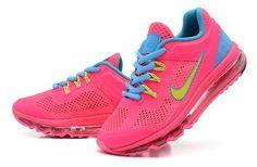 Kids Nike Air Max Fushia Blue $80.21