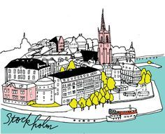 local's guide to shopping, eating, entertainment, lodging and site-seeing in stockholm - stockholm city guide by Design Sponge