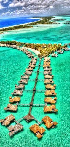 波拉波拉島,法屬波利尼西亞 Bora Bora, French Polynesia