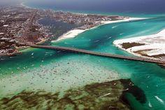 Best Beaches In Destin Florida   Destin Florida Voted Best Family Beach by Travel Magazine   Destin to ...