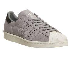 Adidas Superstar 80s Solid Grey Tortoise Shell - Unisex Sports cd8bdac1cd