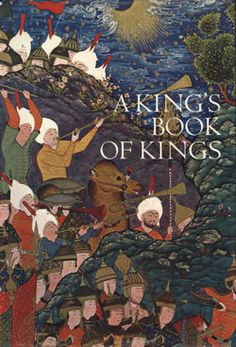 """Welch, Stuart Cary (1976). A King's Book of Kings: The Shah-nameh of Shah Tahmasp. The Shah-nameh is Iran's central literary work, a historical epic peopled with monarchs, handsome paladins, beautiful maidens, malevolent witches, and treacherous demons. The particular manuscript of the Shah-nameh introduced here by Welch is the most sumptuous one ever produced. To read more, download this publication on """"MetPublications."""" #MetPubs"""