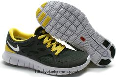 6a5de9e71858 Mens Nike Free Runs 2 Green White. See more. nike shoes I must own these shoes  Gray Yellow