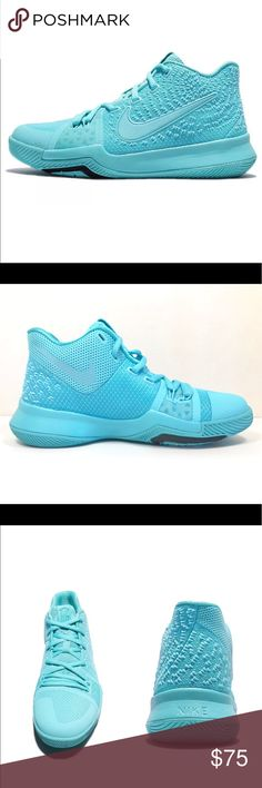 c15b06be7c71 Nike Kyrie 3 Kids Grade School Shoes Size 4.5Y Brand new Color  Aqua Brand