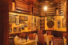 Italian Restaurants | ... Room Wall Interior Decoration of Cafe Vico Restaurant, Fort Lauderdale