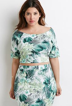 Tropical Crop Top | Forever 21