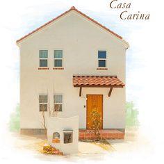自然素材の南欧風住宅 casa carina(カーサ・カリーナ) | 美松ホーム - 兵庫県太子町・姫路市・たつの市で土地をお探しの方、自然素材の健康住宅、プロヴァンス風の住宅なら美松ホームへ。